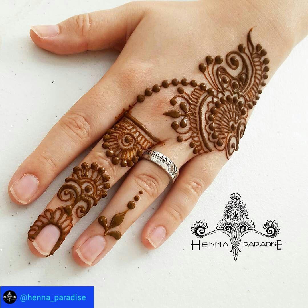 Easy Mehndi Designs Simple Latest (101)