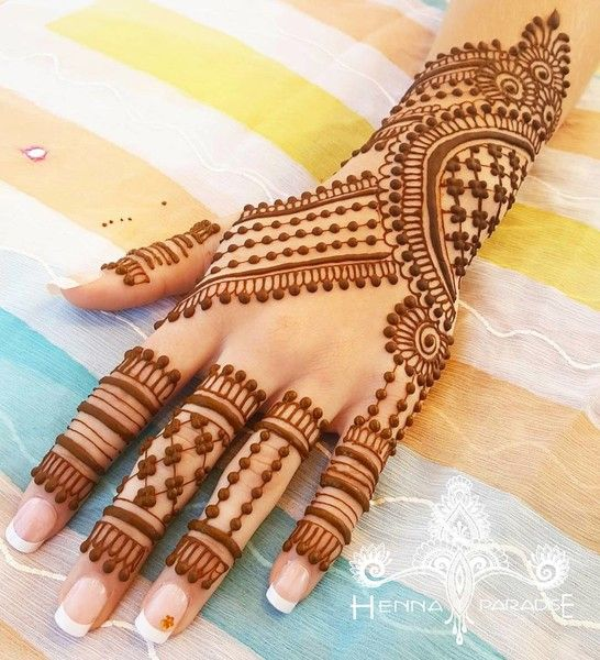Easy Mehndi Designs Simple Latest (11)