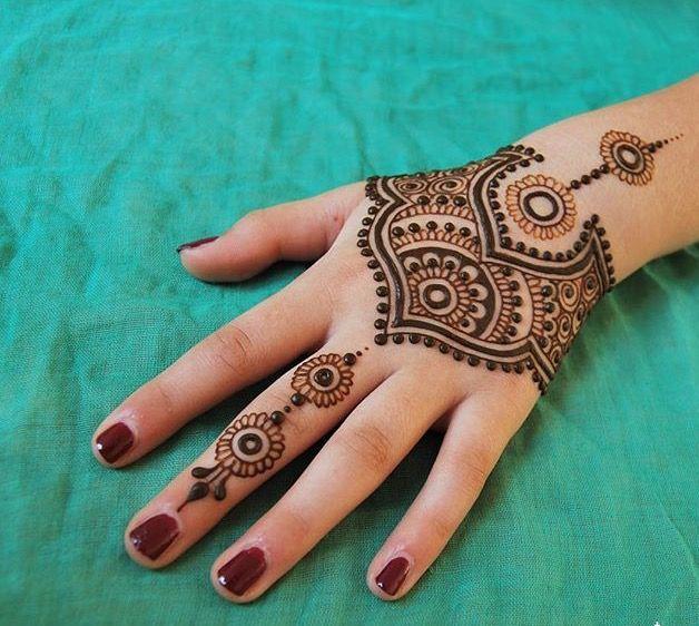 Easy Mehndi Designs Simple Latest (112)