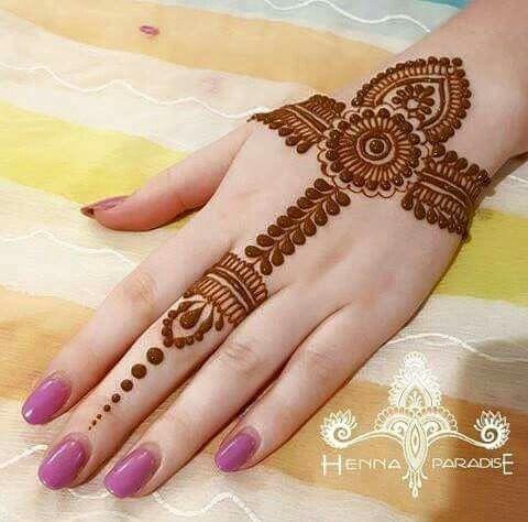 Easy Mehndi Designs Simple Latest (119)
