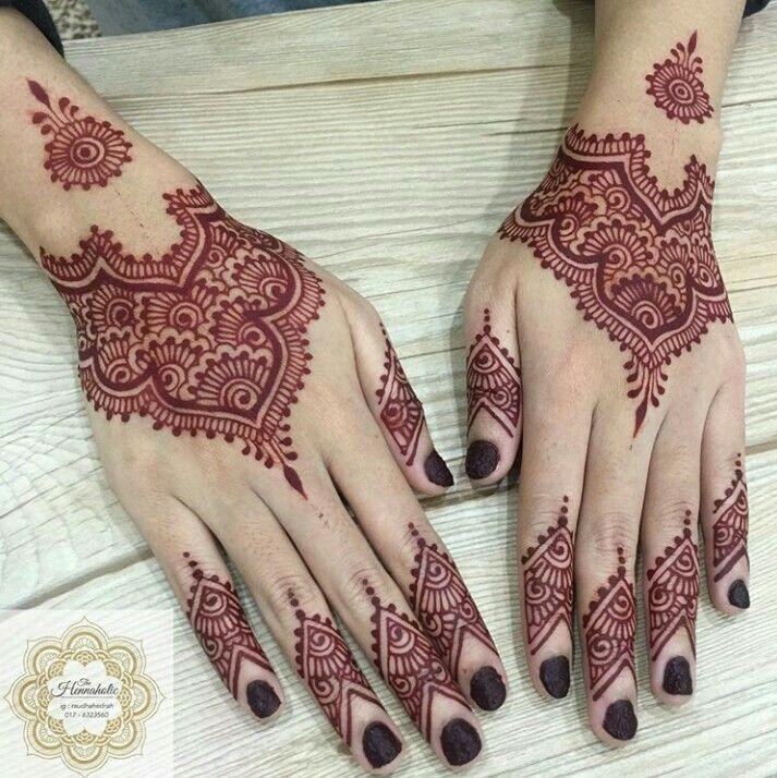 Easy Mehndi Designs Simple Latest (125)