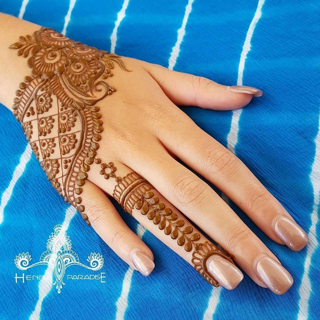 Easy Mehndi Designs Simple Latest (142)