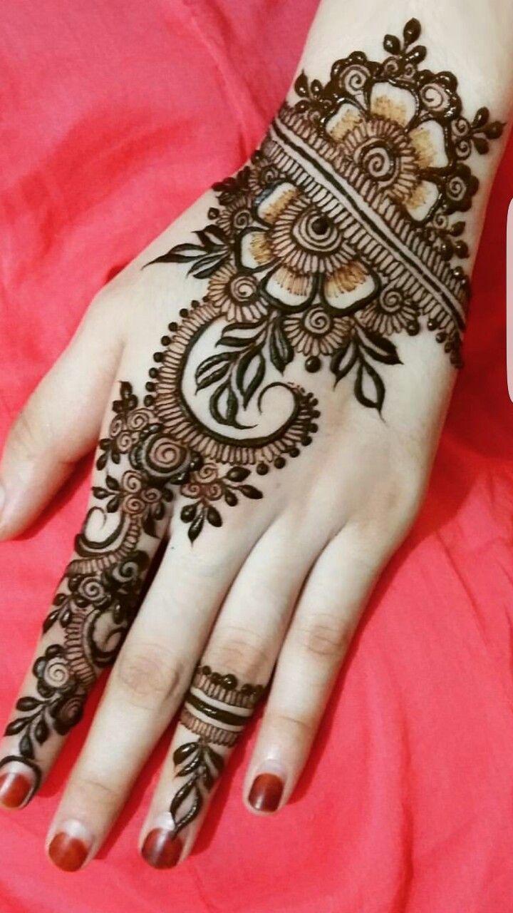 Easy Mehndi Designs Simple Latest (144)