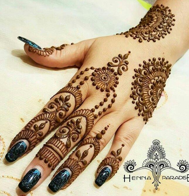 Easy Mehndi Designs Simple Latest (151)