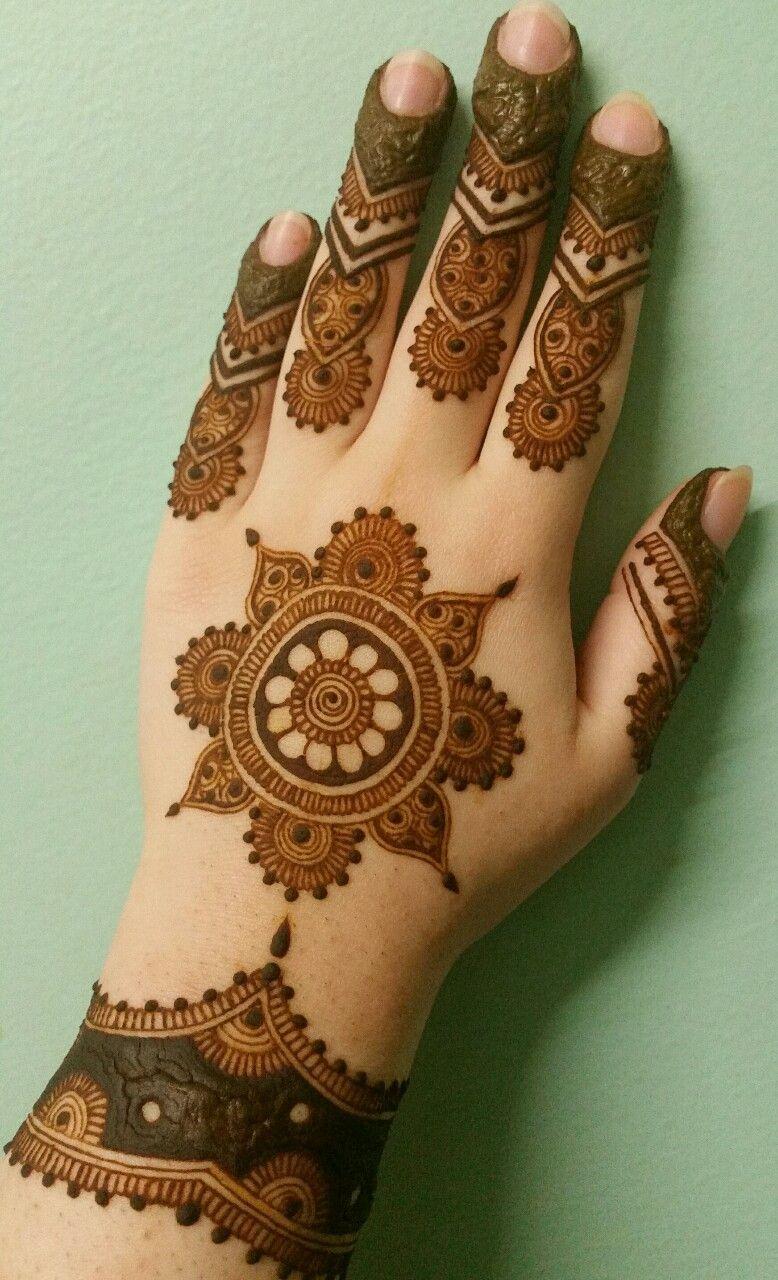 Easy Mehndi Designs Simple Latest (16)