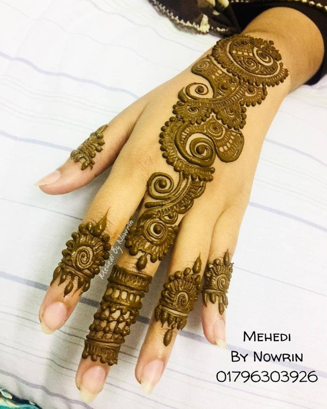 Easy Mehndi Designs Simple Latest (164)