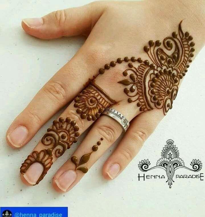 Easy Mehndi Designs Simple Latest (169)