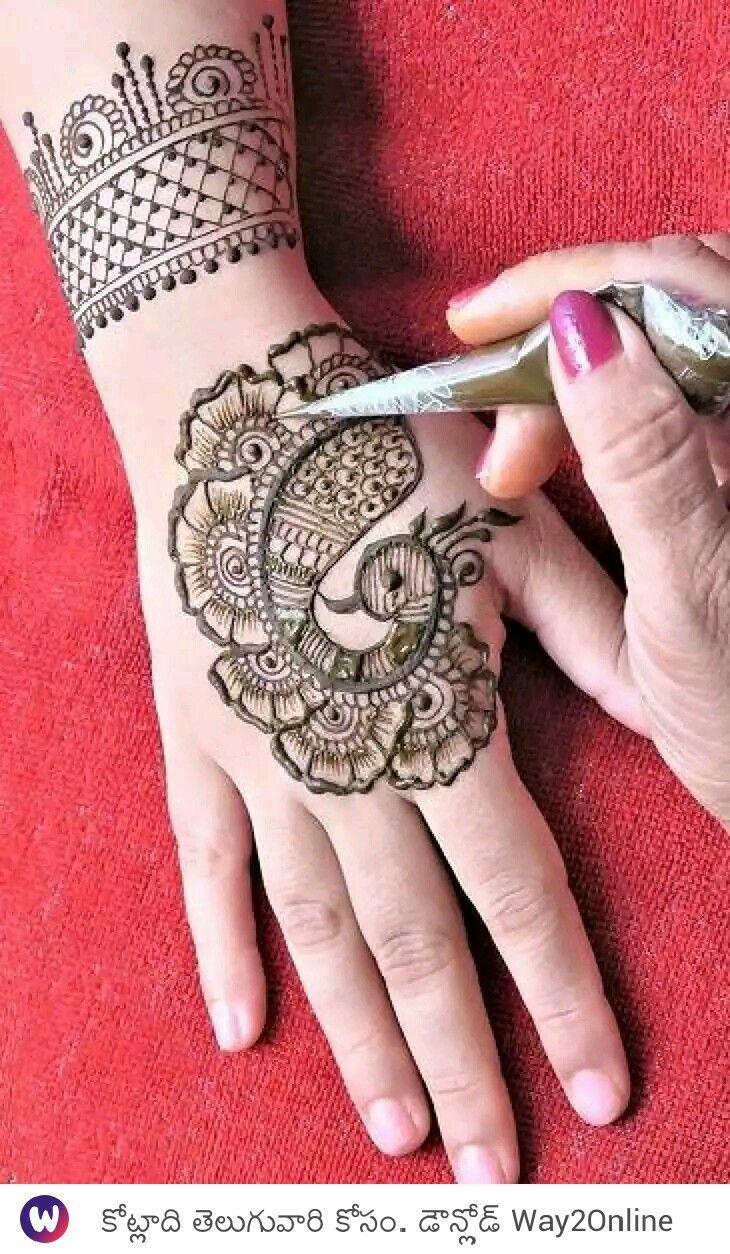 Easy Mehndi Designs Simple Latest (170)