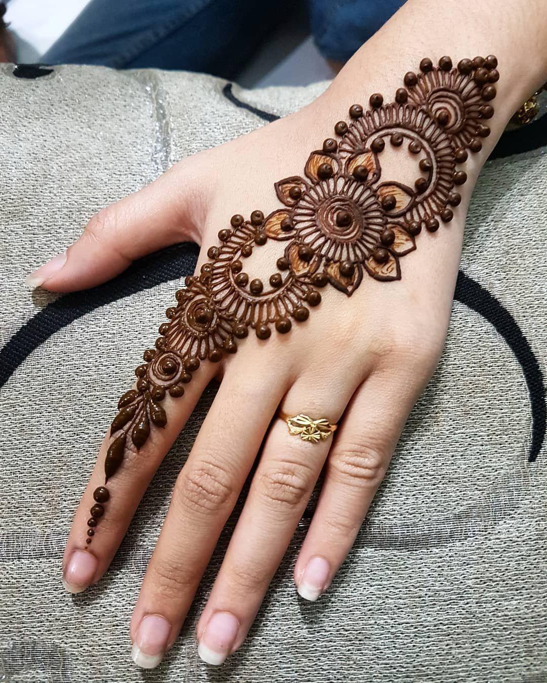 Easy Mehndi Designs Simple Latest (177)