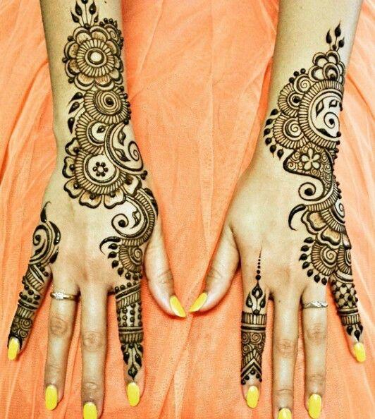 Easy Mehndi Designs Simple Latest (2)