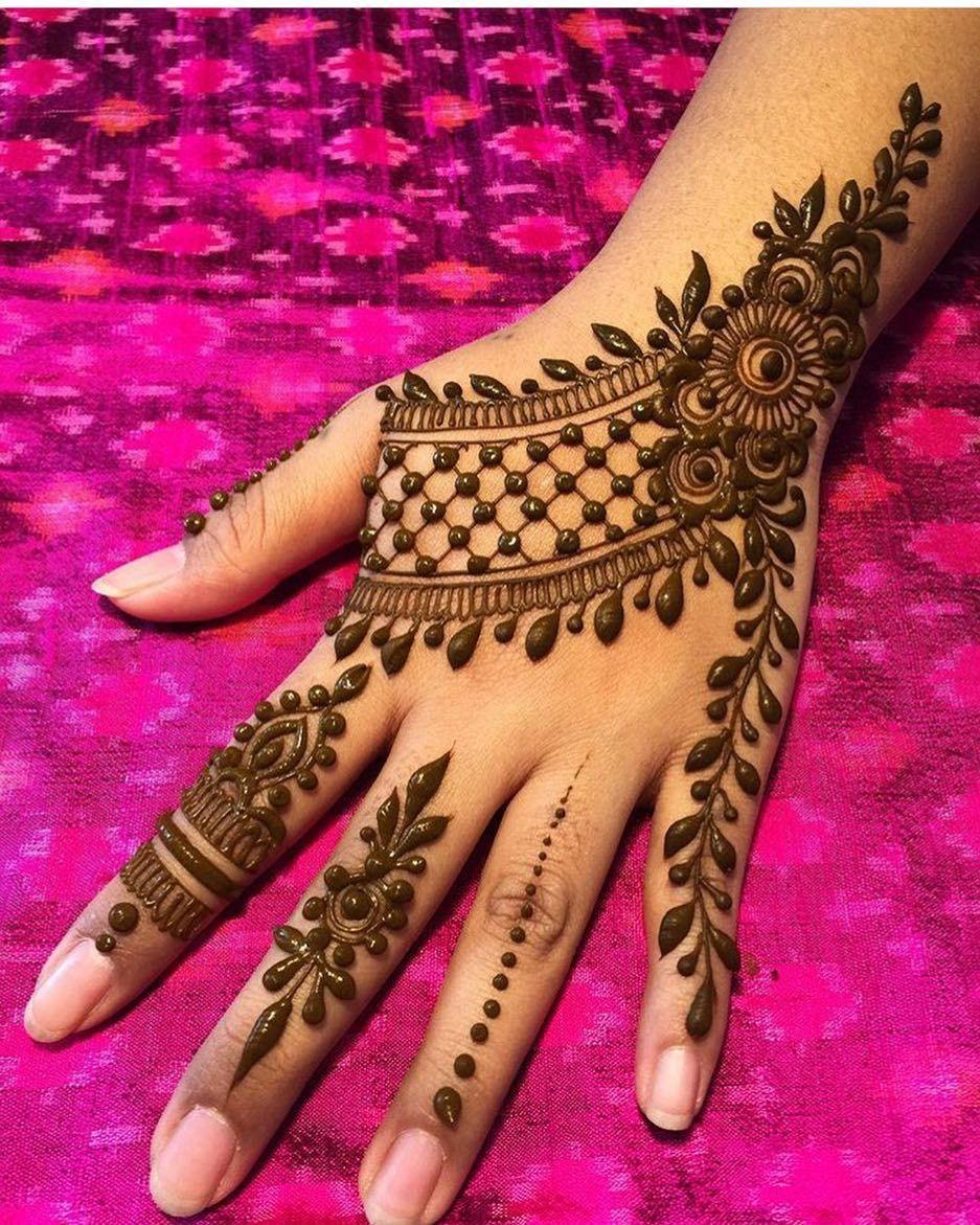 Easy Mehndi Designs Simple Latest (205)