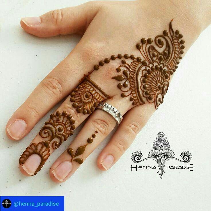 Easy Mehndi Designs Simple Latest (24)