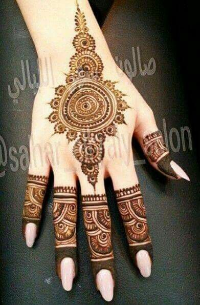 Easy Mehndi Designs Simple Latest (25)