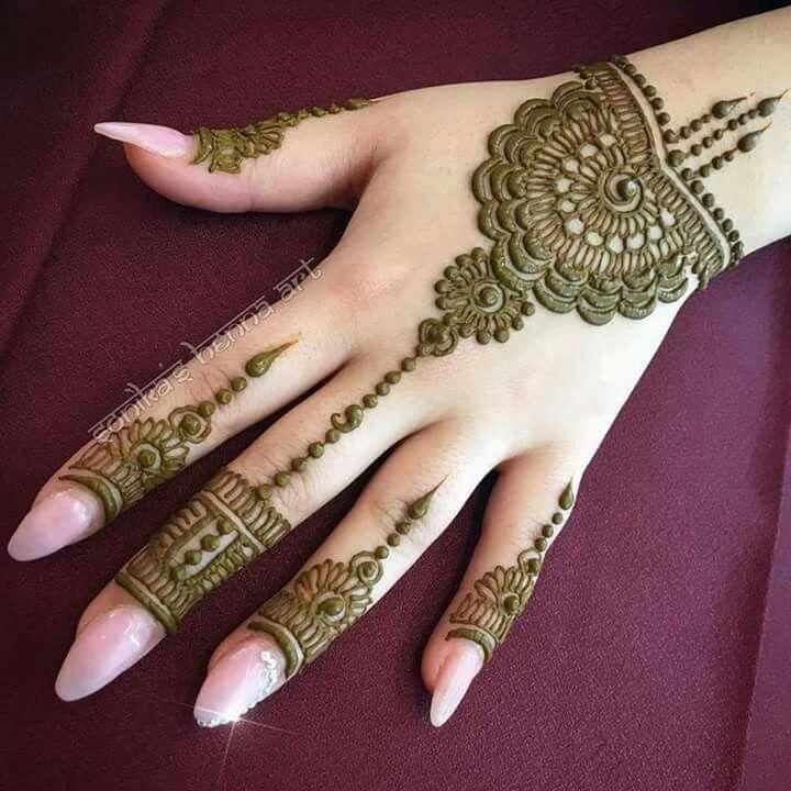 Easy Mehndi Designs Simple Latest (26)