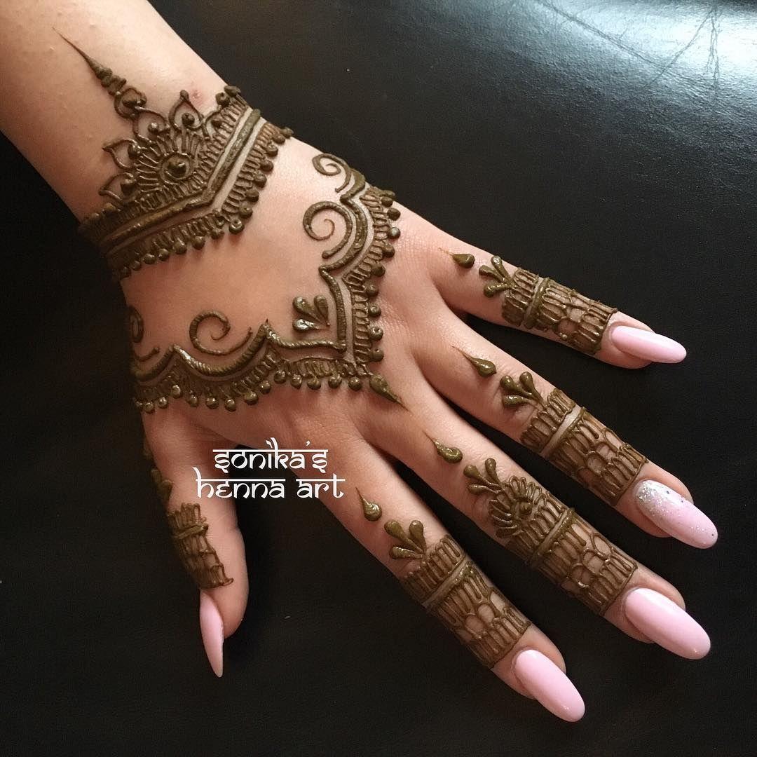 Easy Mehndi Designs Simple Latest (28)