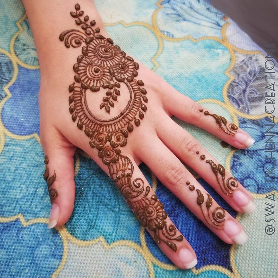 Easy Mehndi Designs Simple Latest (36)