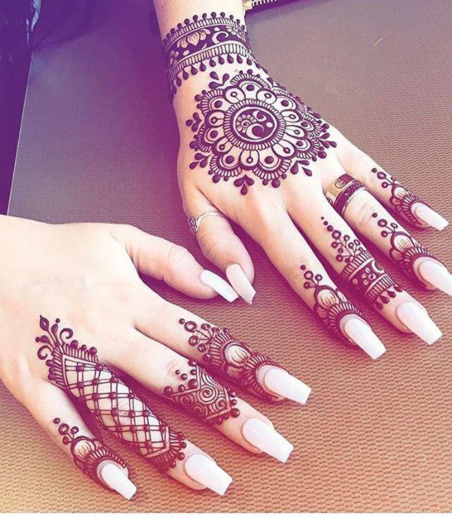Easy Mehndi Designs Simple Latest (43)