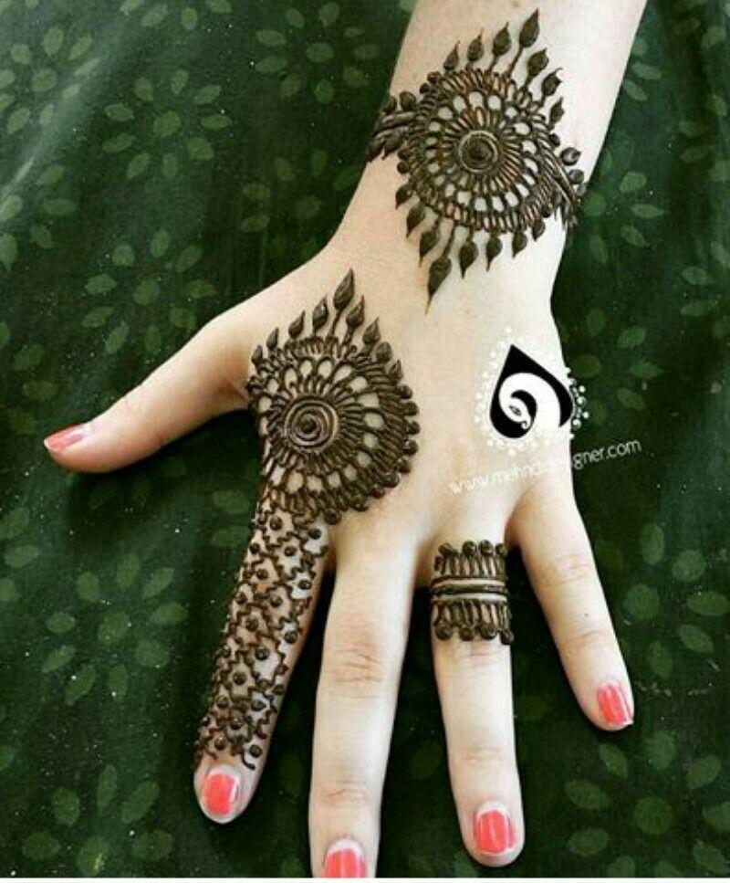 Easy Mehndi Designs Simple Latest (61)