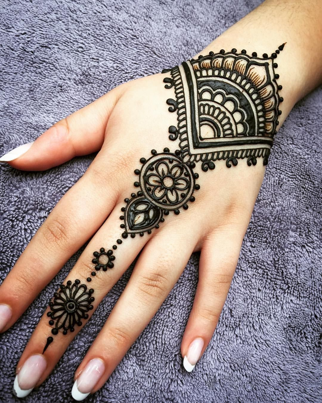 220 Easy Mehndi Designs For Left Hand Right Hand Front Hand Back Hand 2020