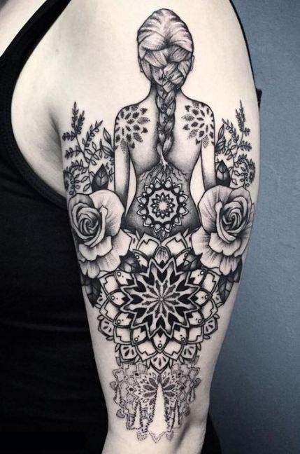 Hamsa Hand Tattoo Designs (107)