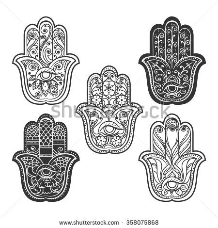 Hamsa Hand Tattoo Designs (11)