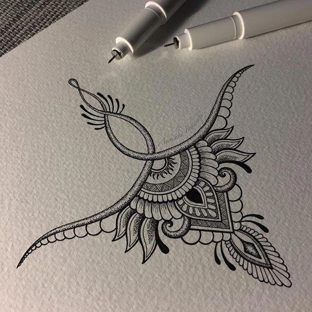 Hamsa Hand Tattoo Designs (112)
