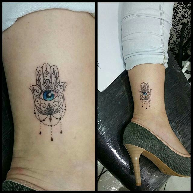 Hamsa Hand Tattoo Designs (113)