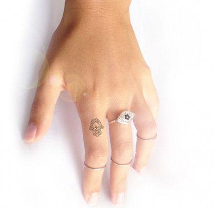 Hamsa Hand Tattoo Designs (117)