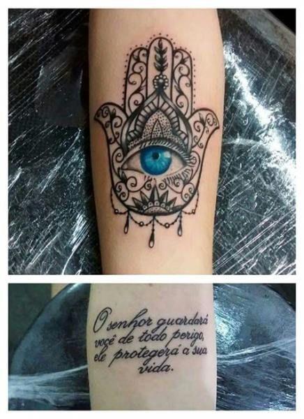 Hamsa Hand Tattoo Designs (121)