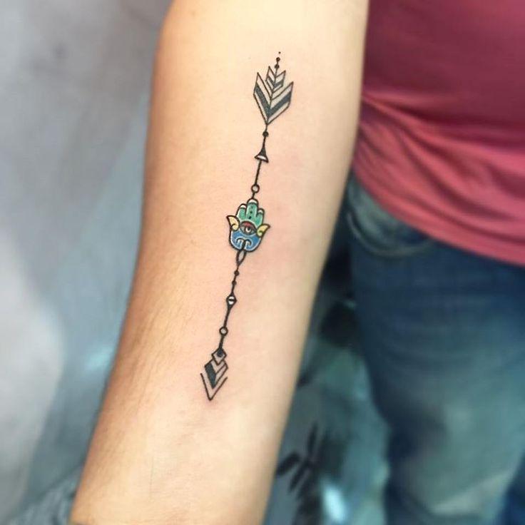 Hamsa Hand Tattoo Designs (124)