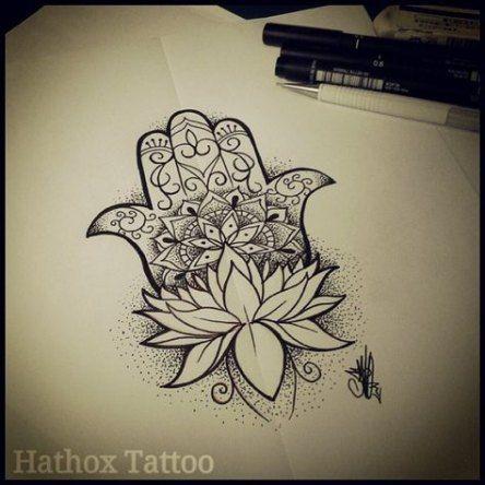 Hamsa Hand Tattoo Designs (138)