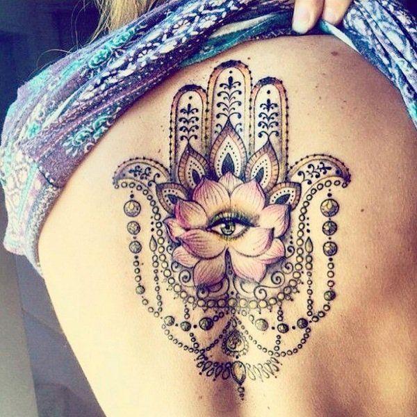 Hamsa Hand Tattoo Designs (144)