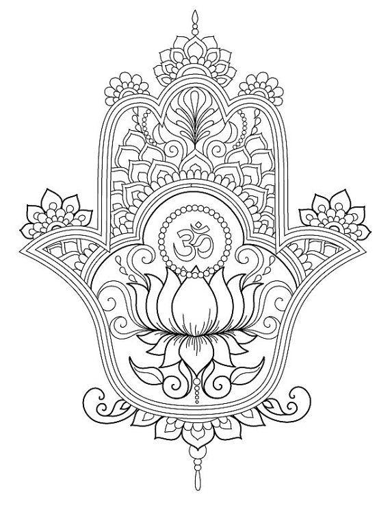 Hamsa Hand Tattoo Designs (146)