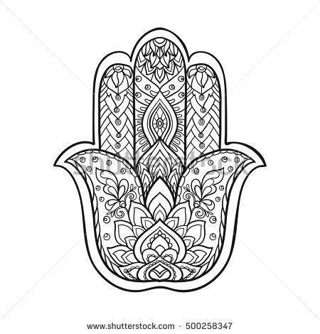 Hamsa Hand Tattoo Designs (154)