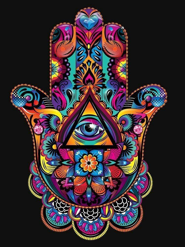 Hamsa Hand Tattoo Designs (156)
