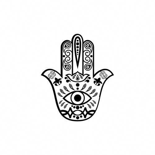 Hamsa Hand Tattoo Designs (158)