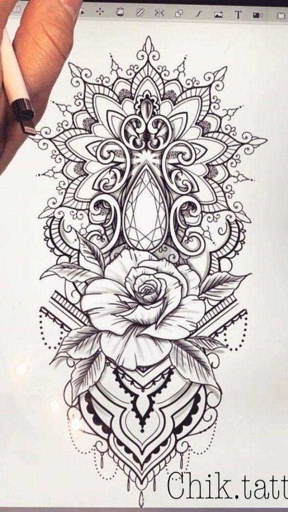 Hamsa Hand Tattoo Designs (159)