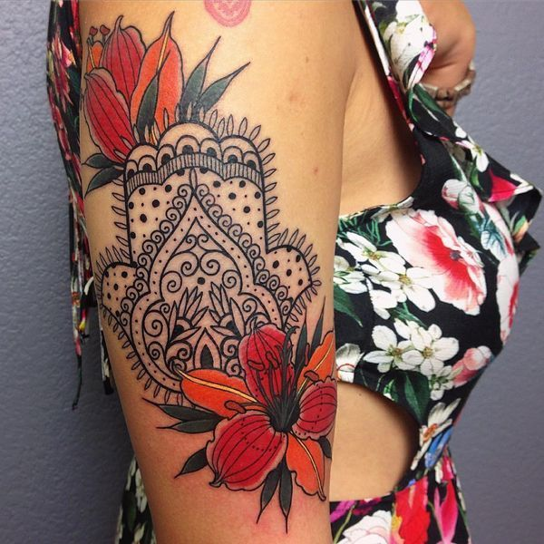 Hamsa Hand Tattoo Designs (164)