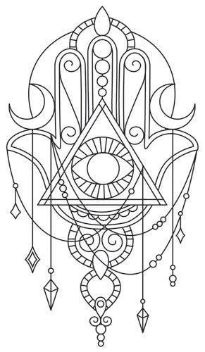 Hamsa Hand Tattoo Designs (173)