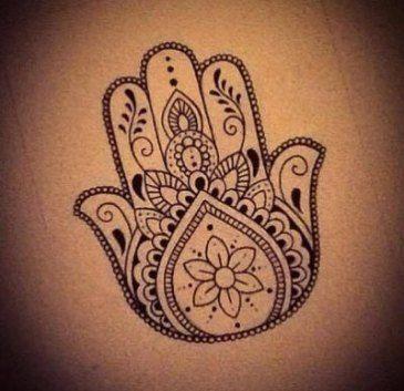 Hamsa Hand Tattoo Designs (178)