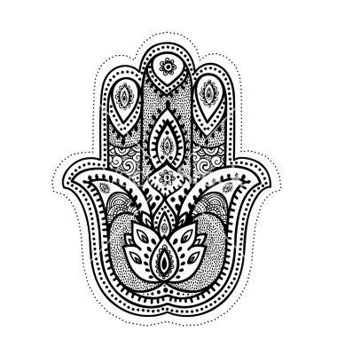 Hamsa Hand Tattoo Designs (187)