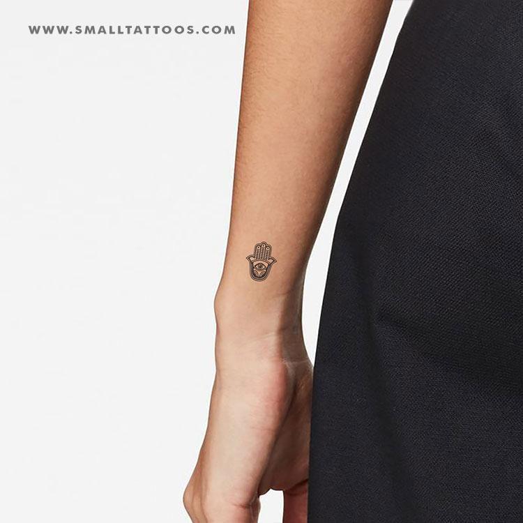 Hamsa Hand Tattoo Designs (203)