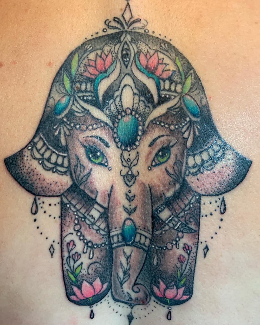 Hamsa Hand Tattoo Designs (208)
