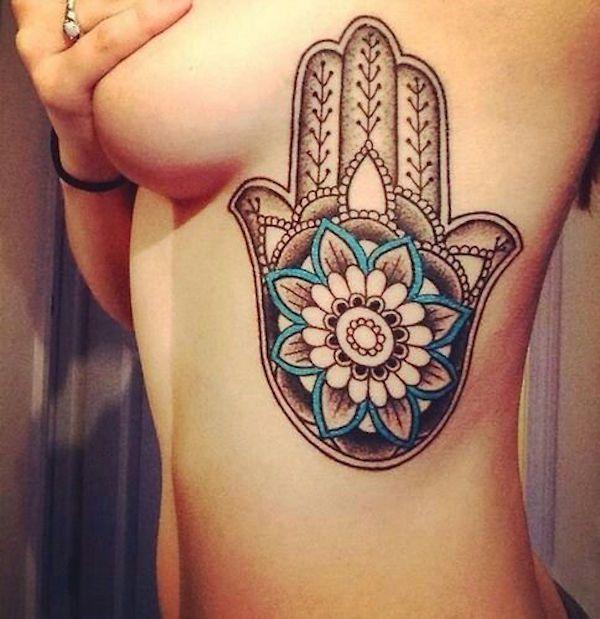 Hamsa Hand Tattoo Designs (223)