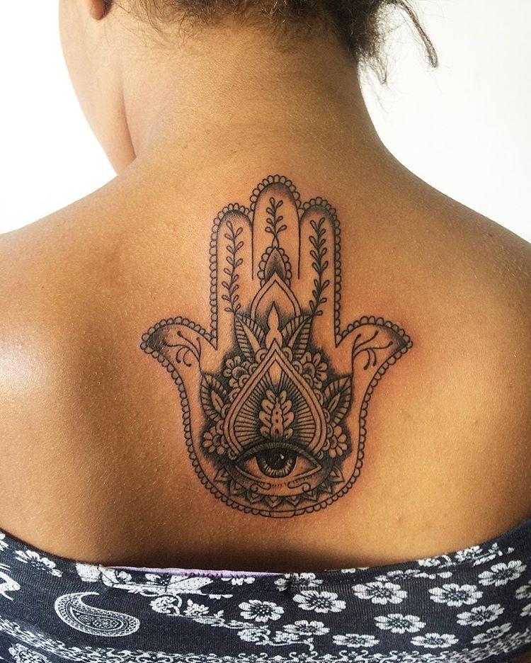 Hamsa Hand Tattoo Designs (241)