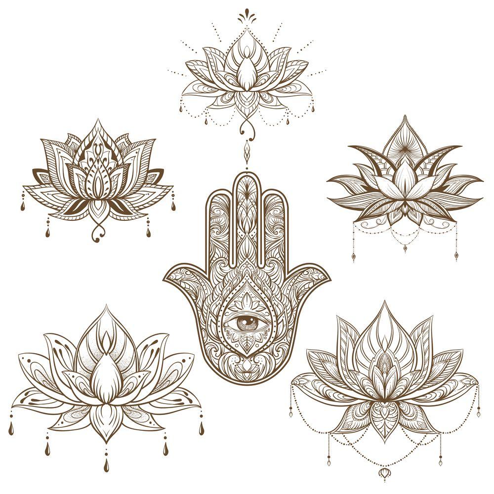 Hamsa Hand Tattoo Designs (27)
