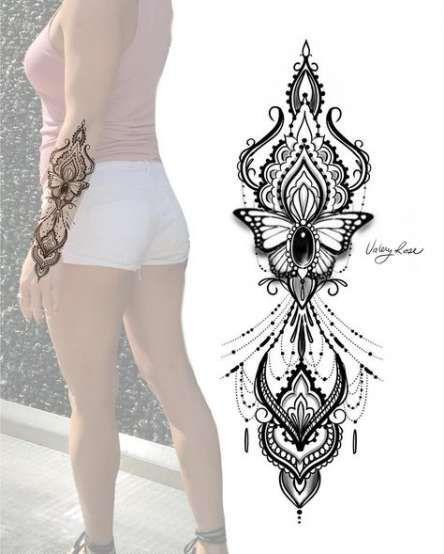 Hamsa Hand Tattoo Designs (28)
