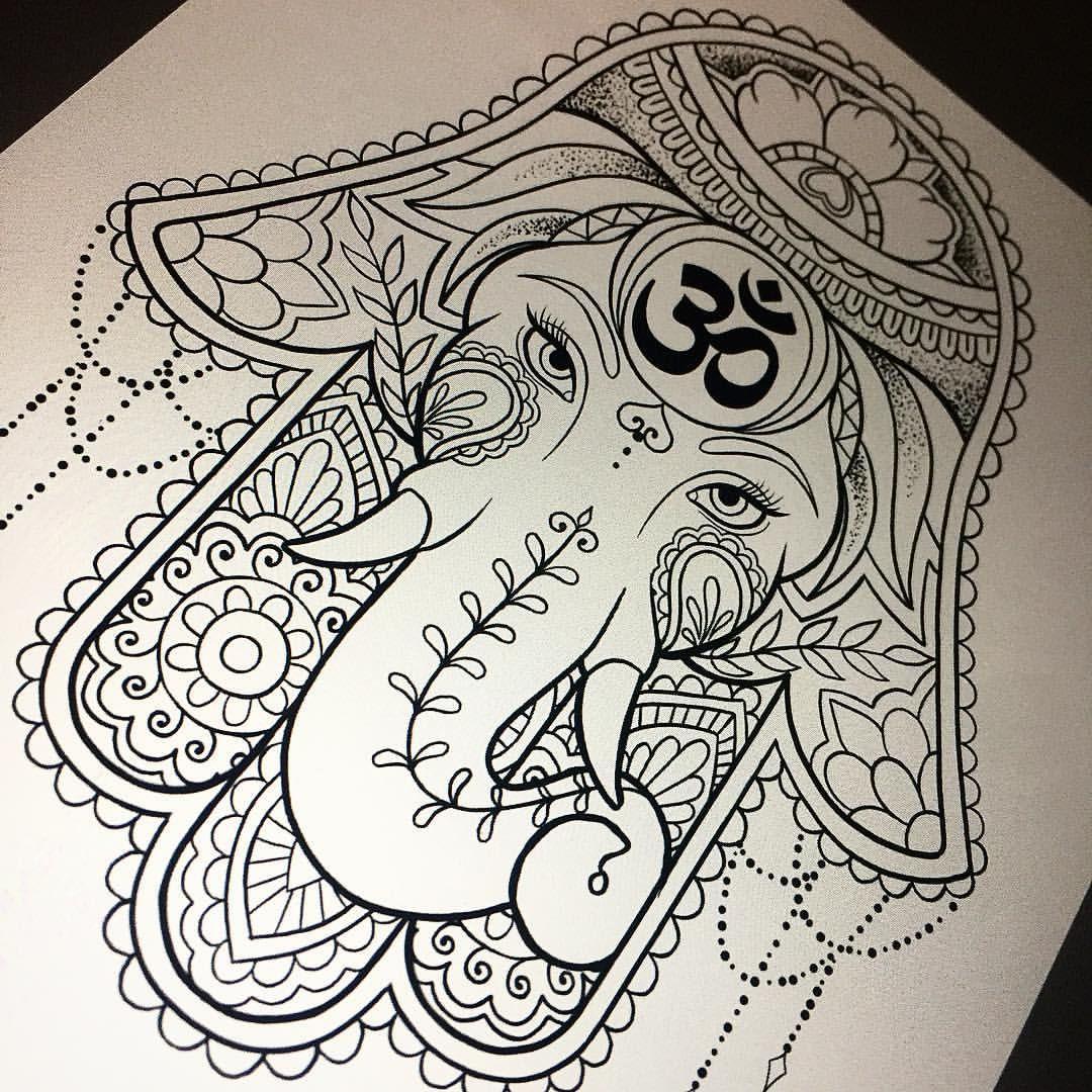 Hamsa Hand Tattoo Designs (32)