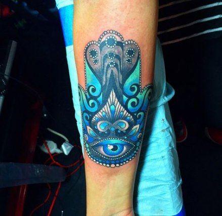Hamsa Hand Tattoo Designs (34)