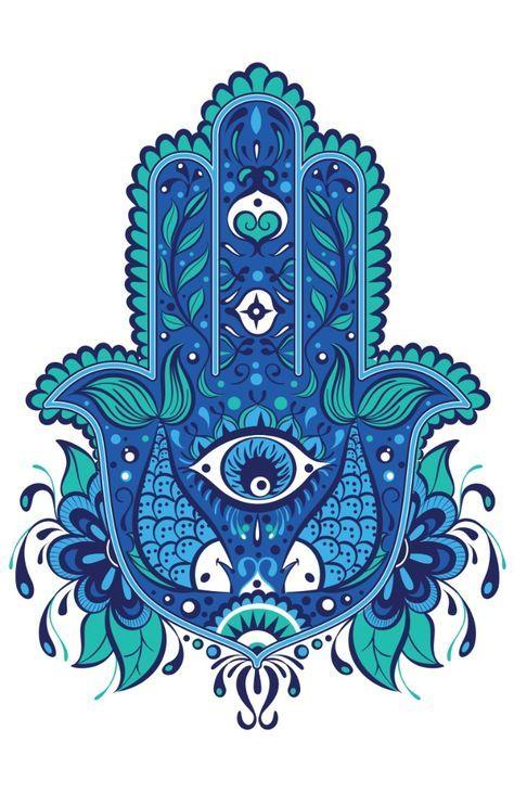 Hamsa Hand Tattoo Designs (43)